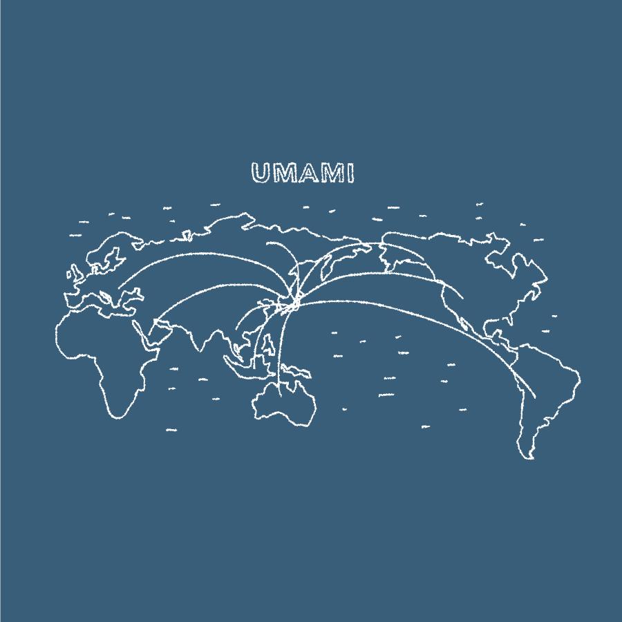 UMAMIとして世界から注目