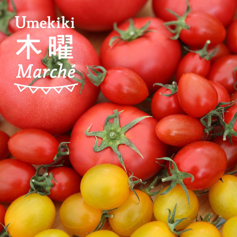 Umekiki 木曜 マルシェ -6月22日-