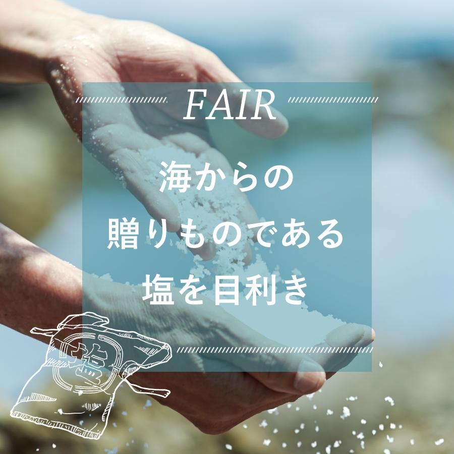 FAIR『海からの贈りものである塩を目利き』