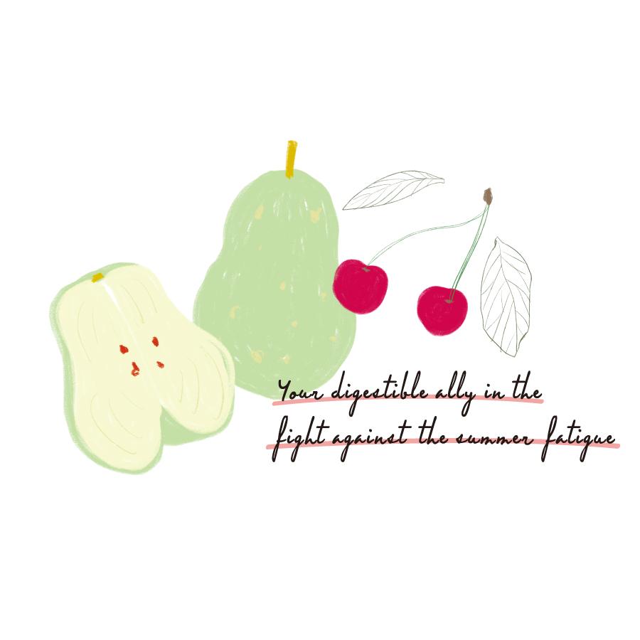 フルーツは夏バテの強い味方