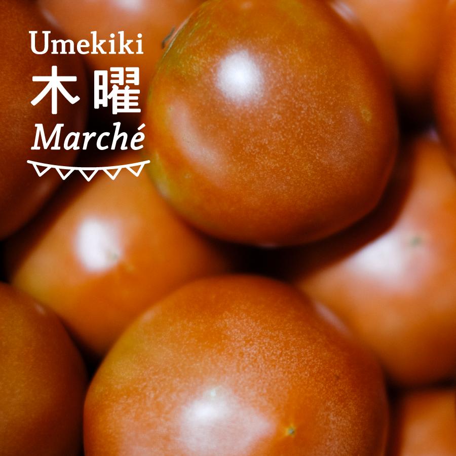 Umekiki 木曜 マルシェ -10月31日-