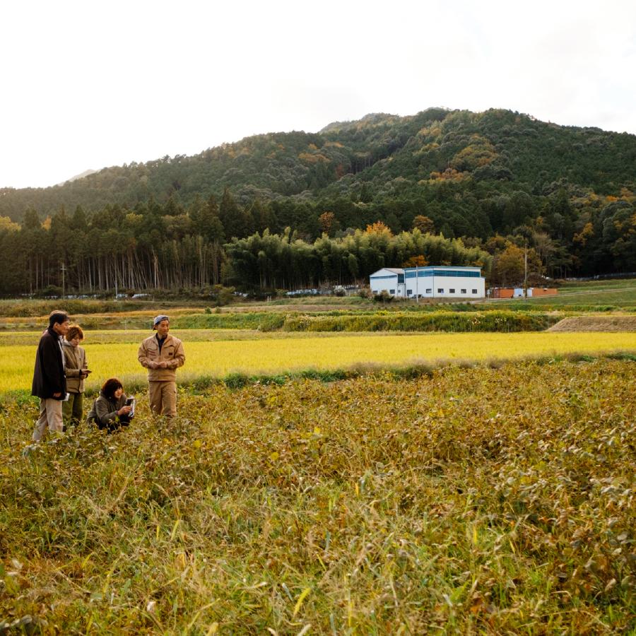 シェフが行く、豆を学ぶ生産地ツアー 〜兵庫県丹波市〜