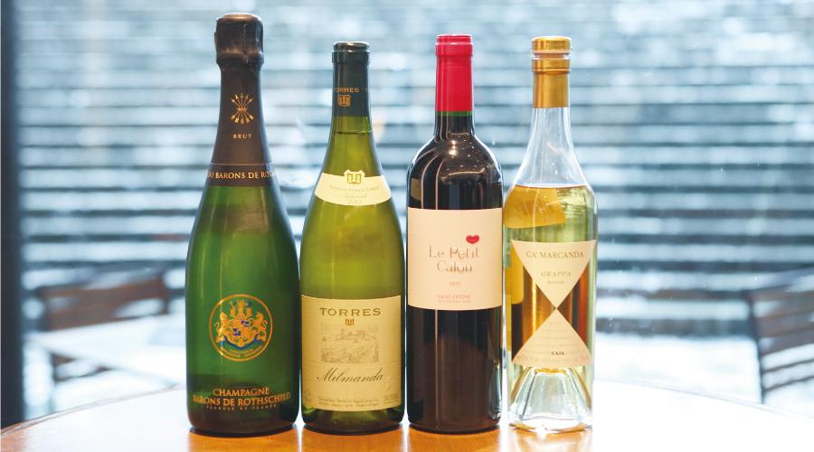 ワインの飲み方の基本