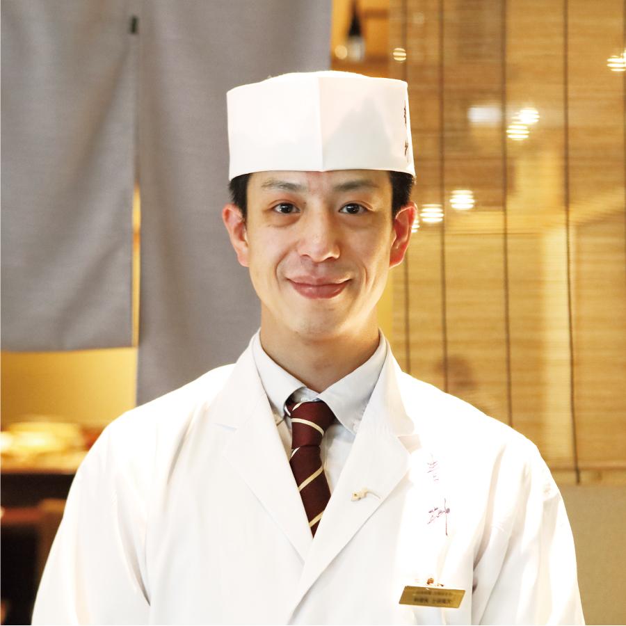 料理長 土田 英次 氏