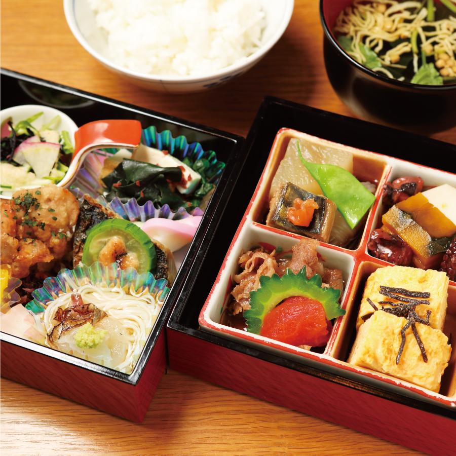 おばんざい梅ノ箱×沖縄野菜&島野菜