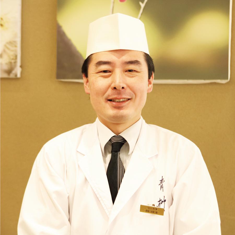 料理長 古賀 聡 氏