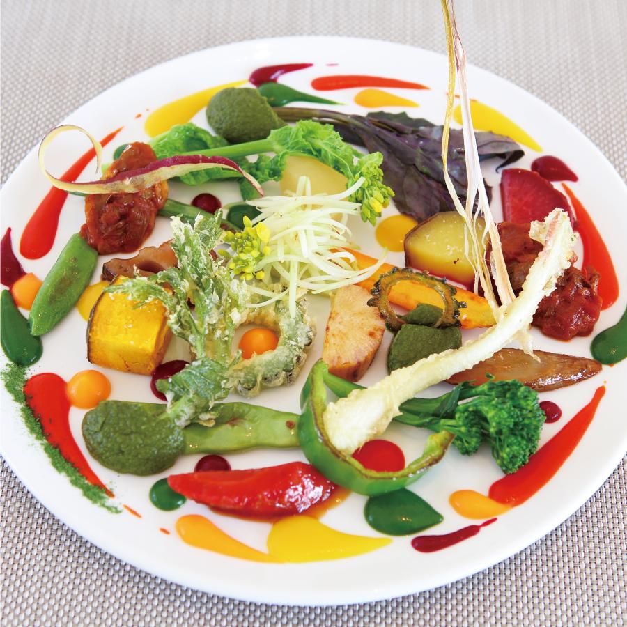 沖縄野菜の遊園地