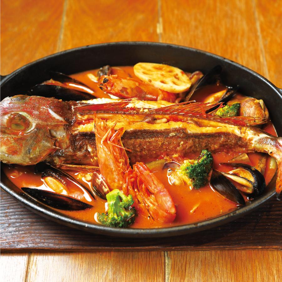 旬鮮魚あごだしブイヤベース