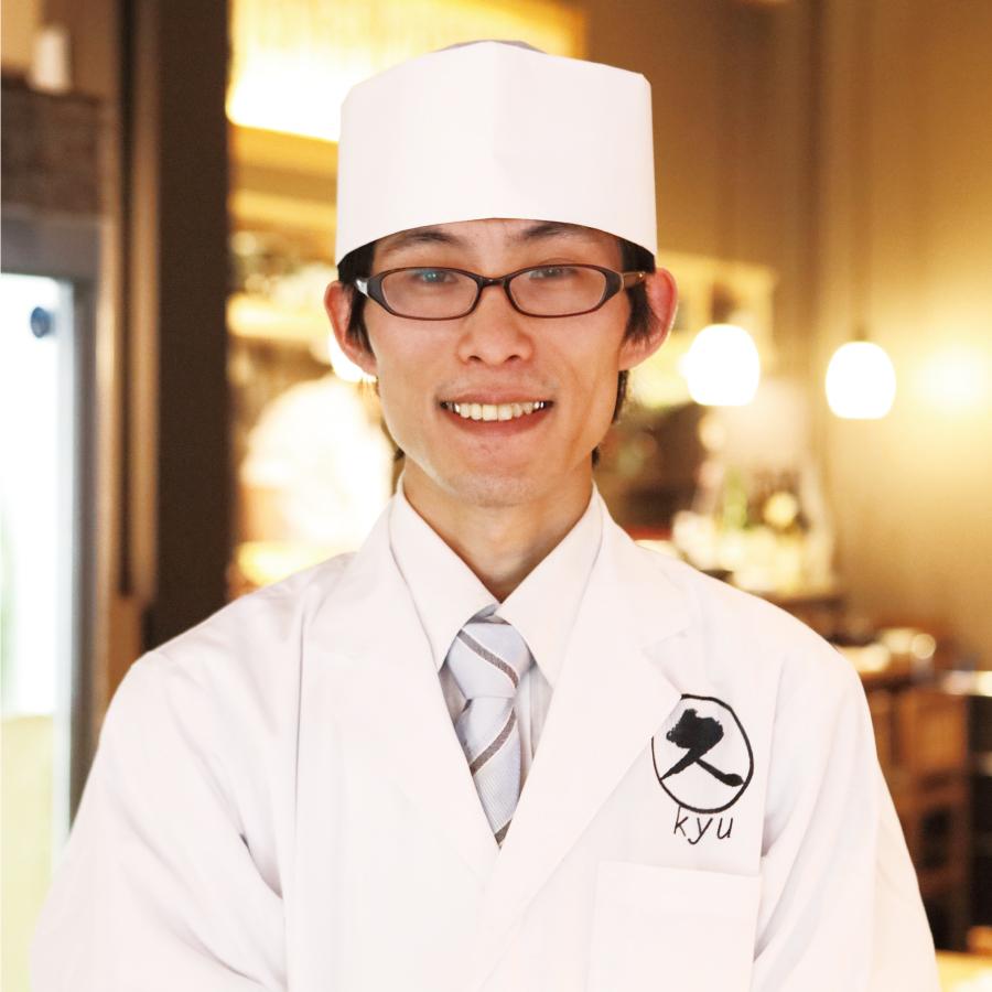 料理長 靍田 武俊 氏